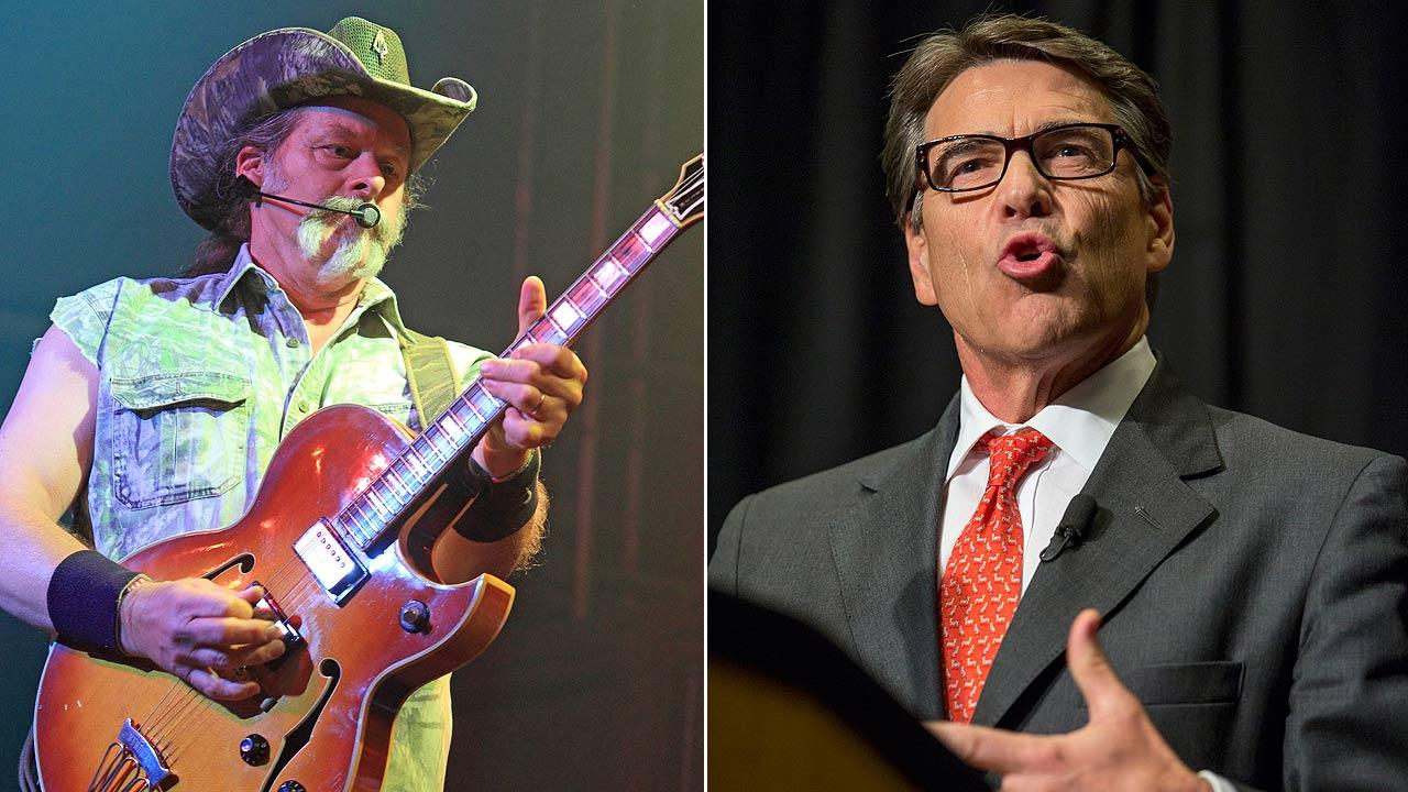 Ted Nugent, Texas Governor Rick Perry