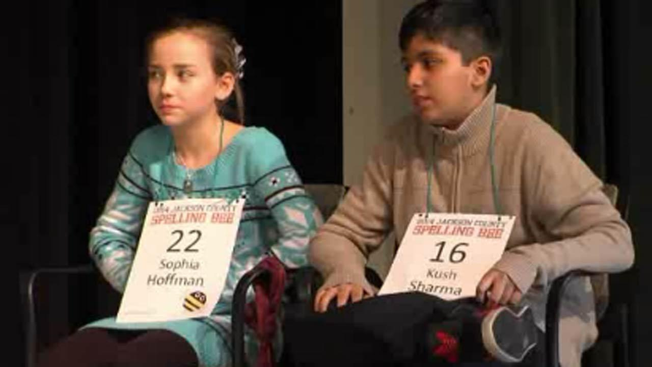 Fifth-grader, Sophia Hoffman and seventh-grader Kush Sharma went through all of the words provided by Scripps.