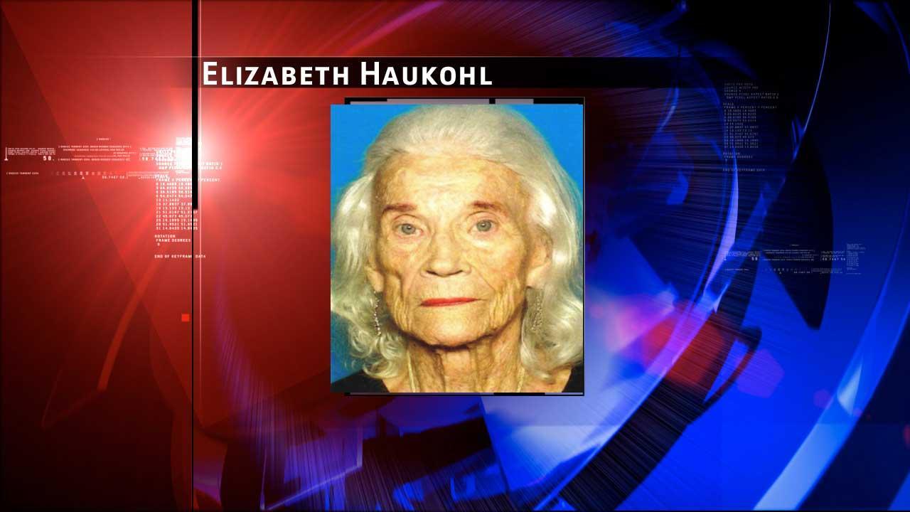 Missing: Elizabeth Tessman Haukohl