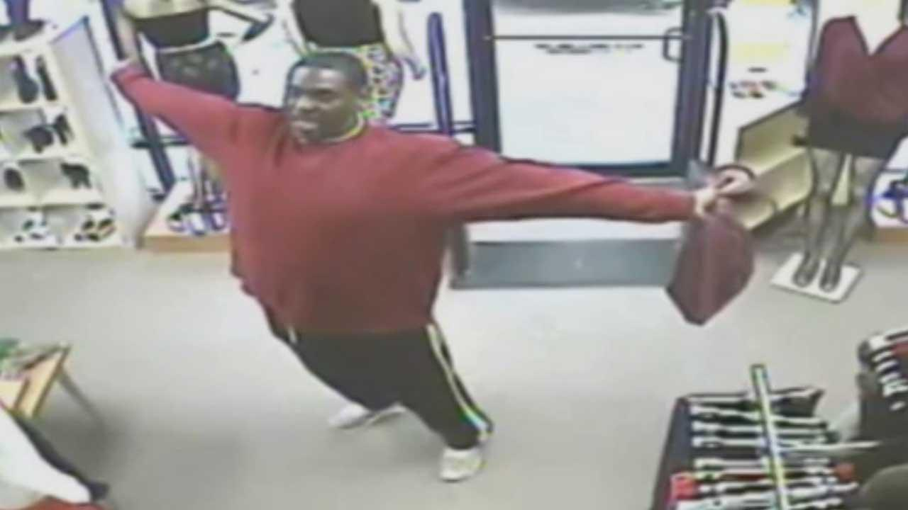 Search continues for Katy-area clothing store robber