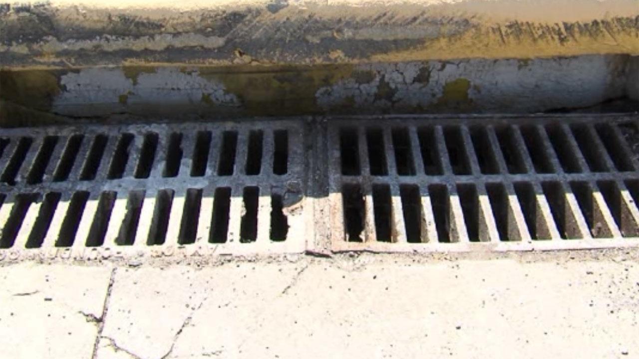 Drainage pipes in Oklahoma