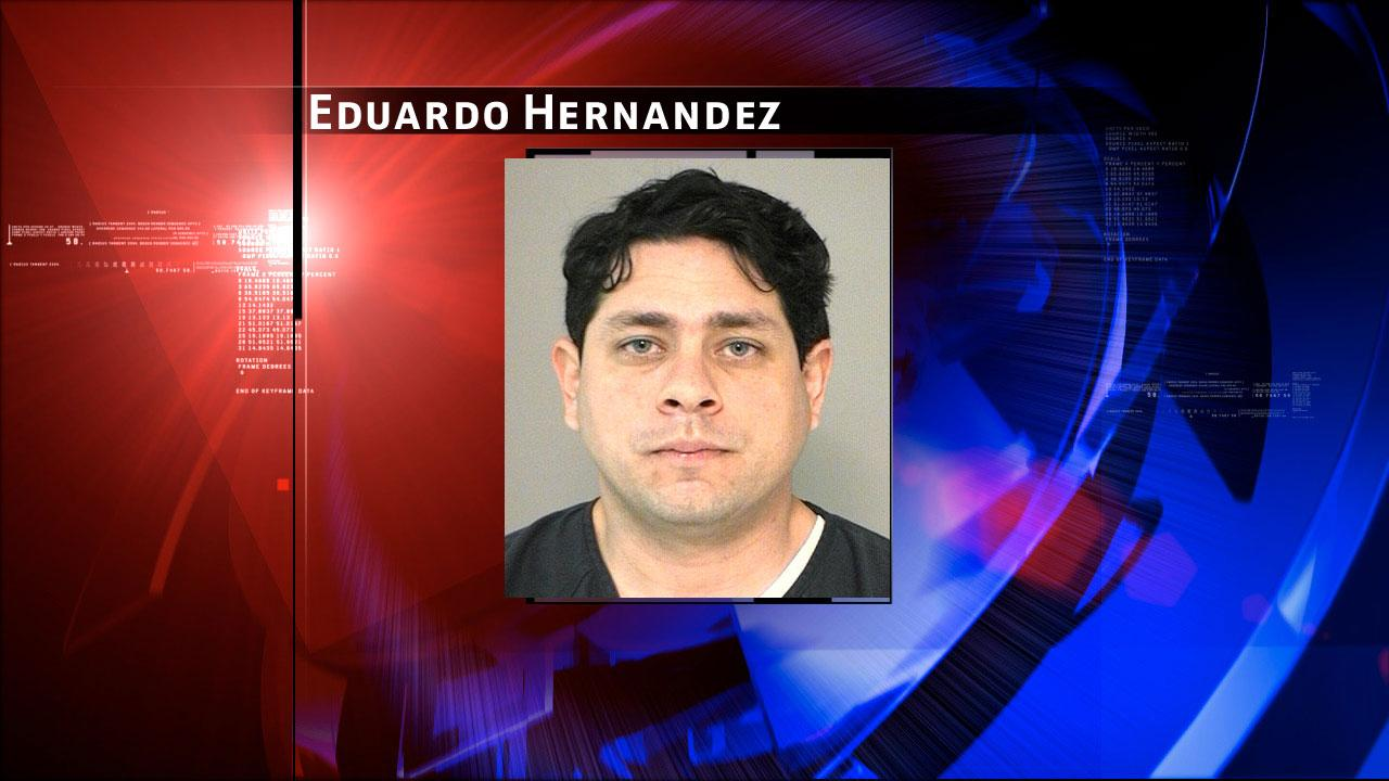Eduardo Hernandez is charged with inappropriate relationship with a student.