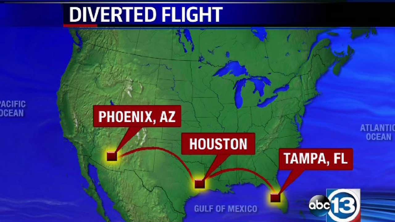 Flight diverted