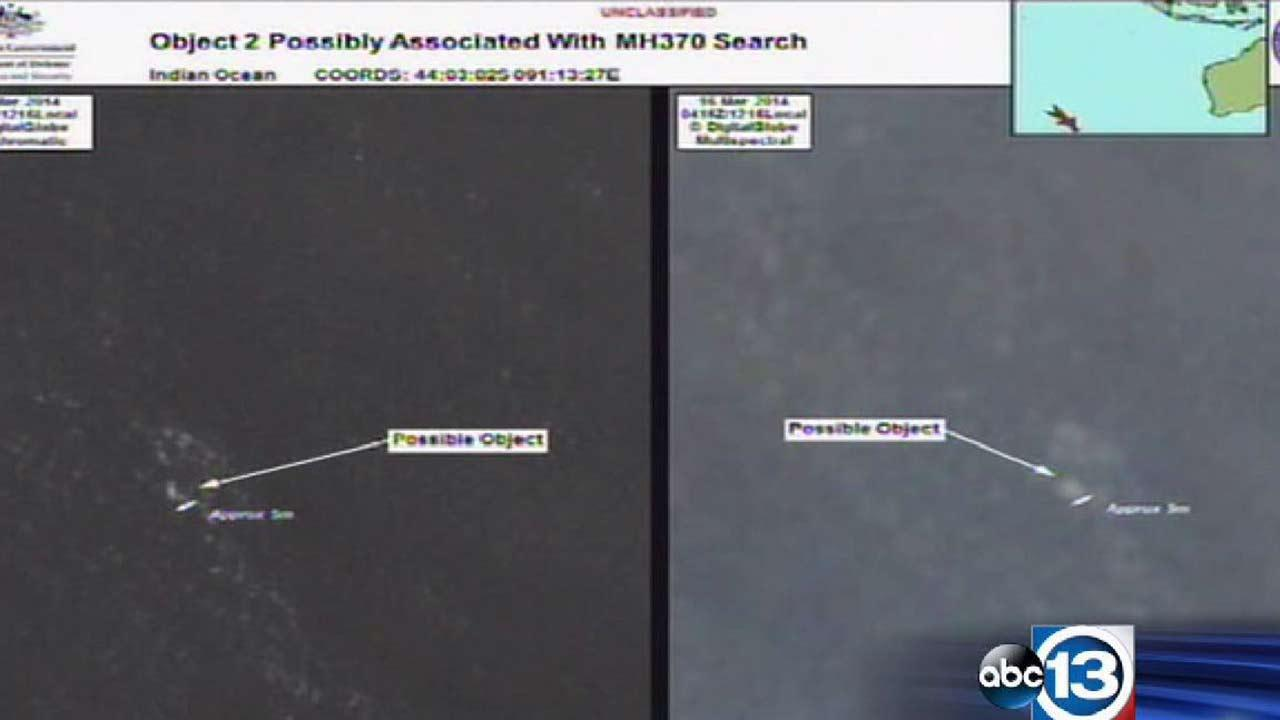 Australian PM: 2 objects in search for Malaysian jet may have been found