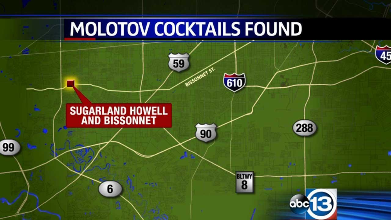 Molotov cocktails