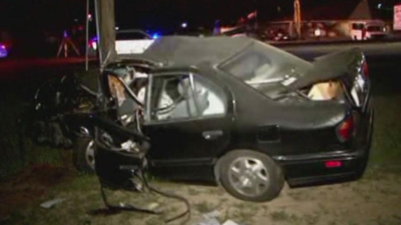 Deadly northwest Harris County wreck