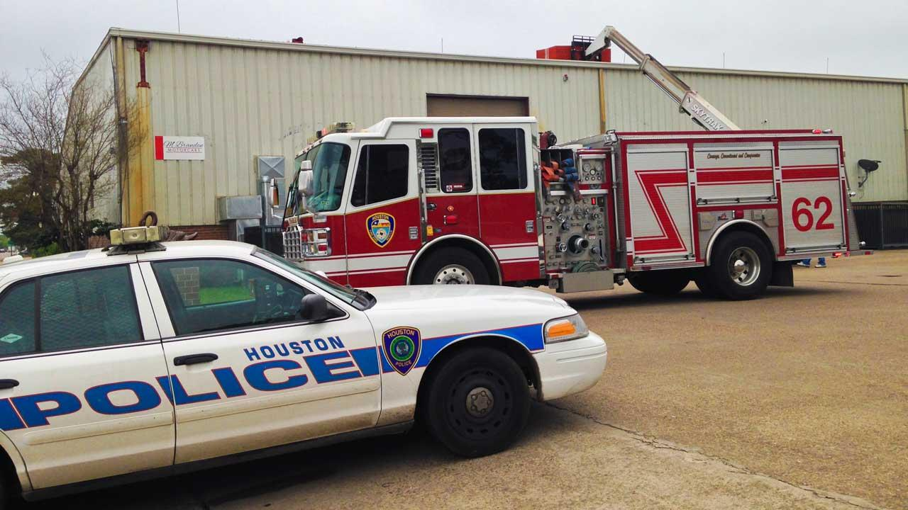 Industrial accident in the Heights