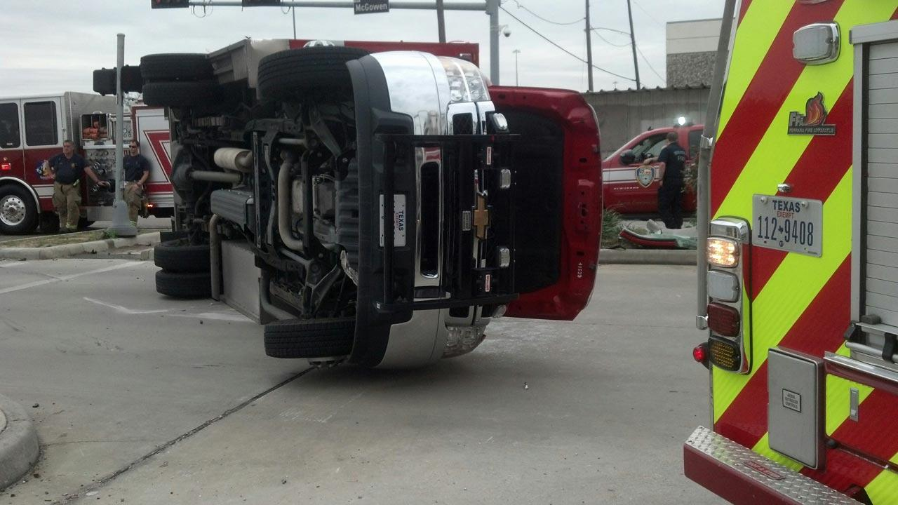 Ambulance accident in Midtown