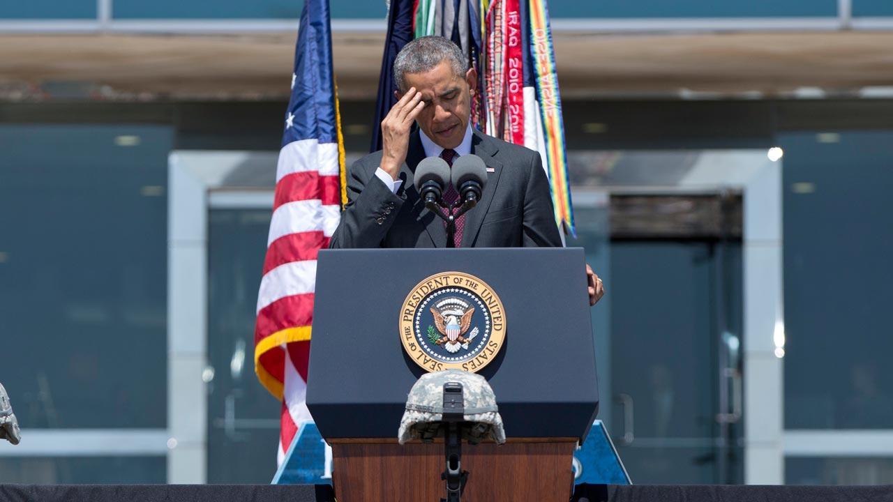President Obama at Fort Hood memorial