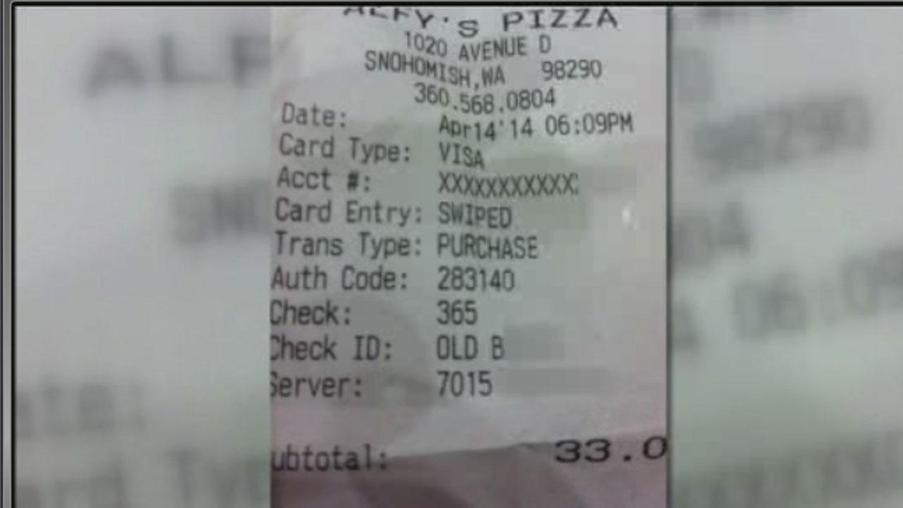 Rude receipt