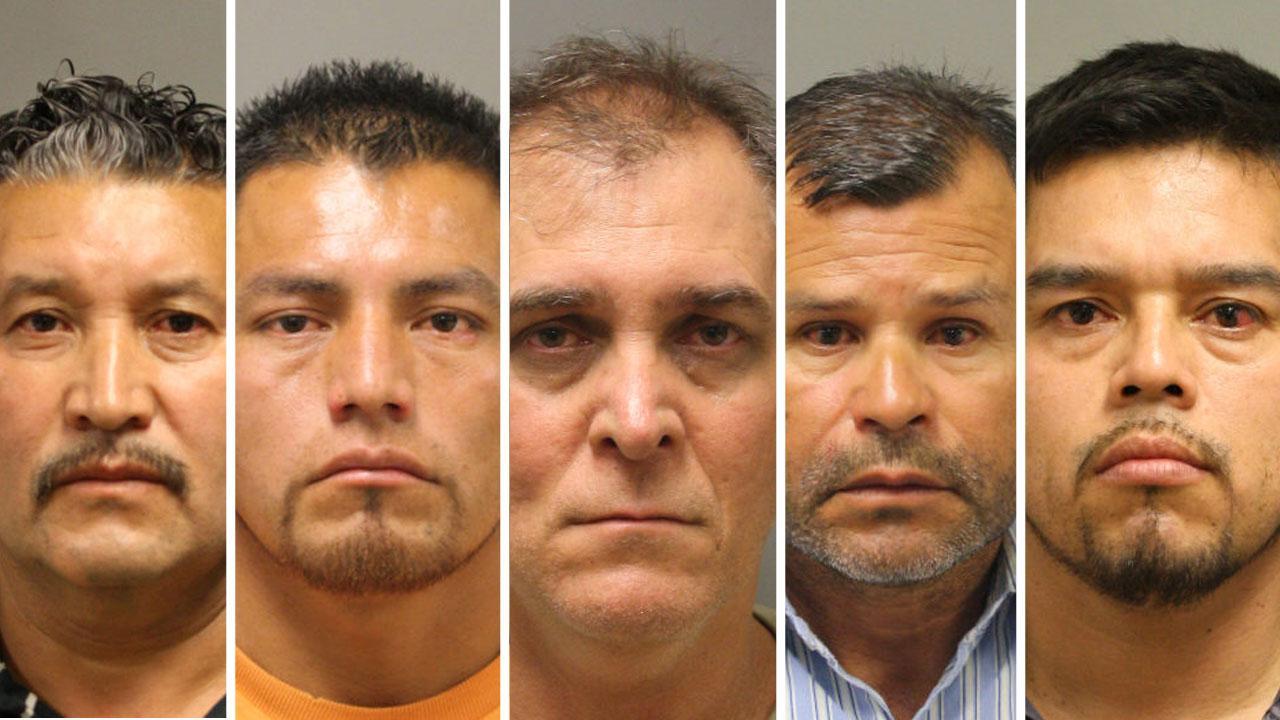 Prostitution sting arrests