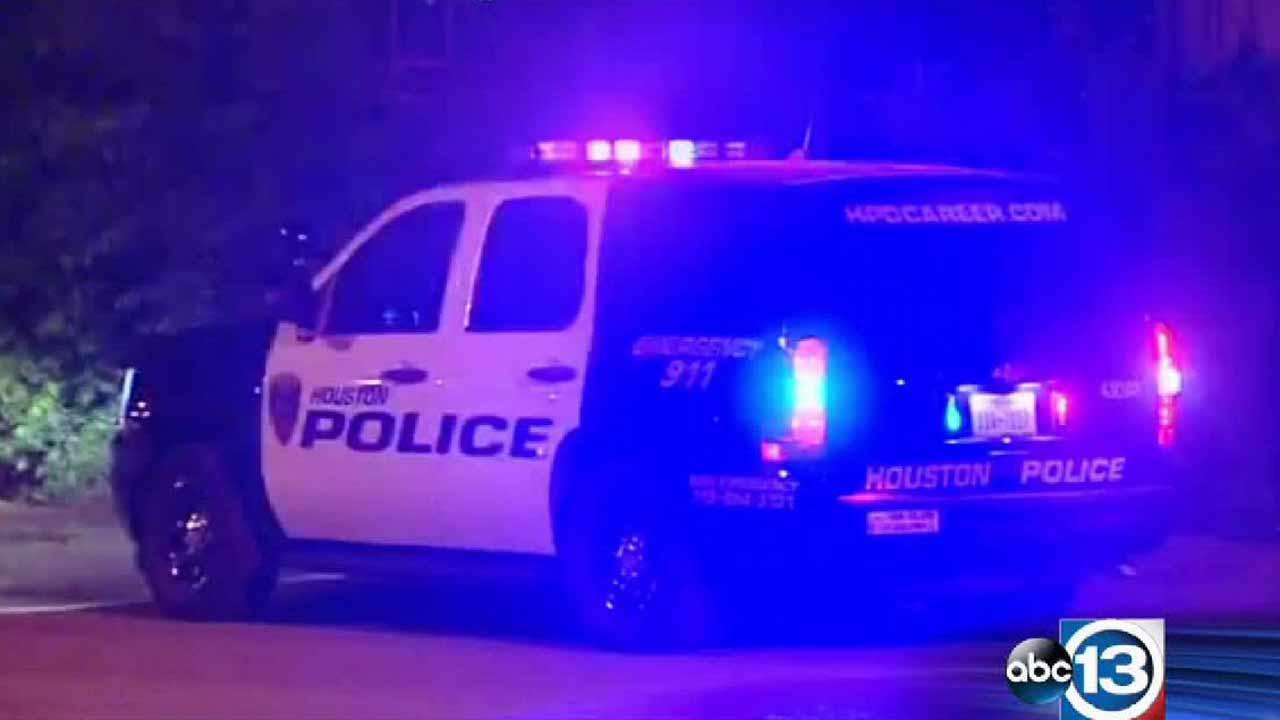 Police are looking for the gunman who opened fire on a man after he answered the door.
