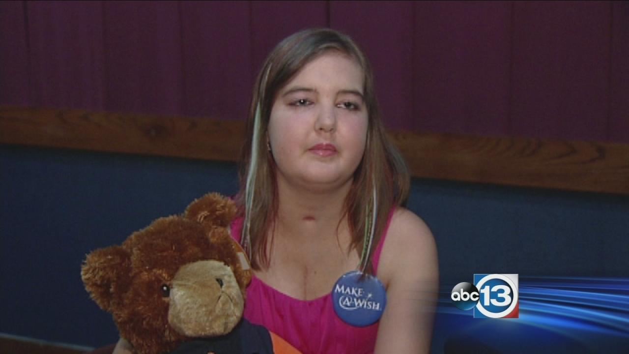 Young Conroe cancer survivor gets sweet treat