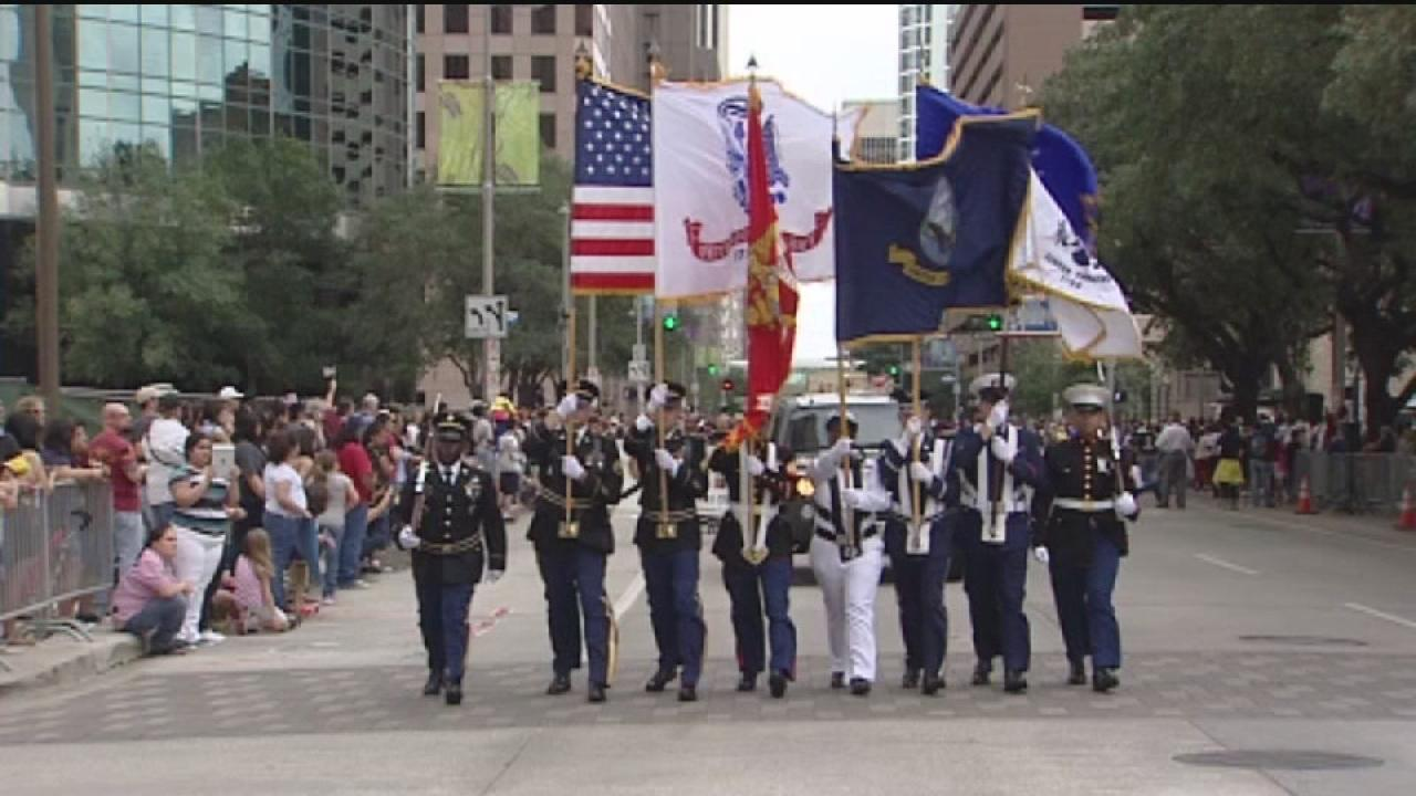 Veterans Parade being held today