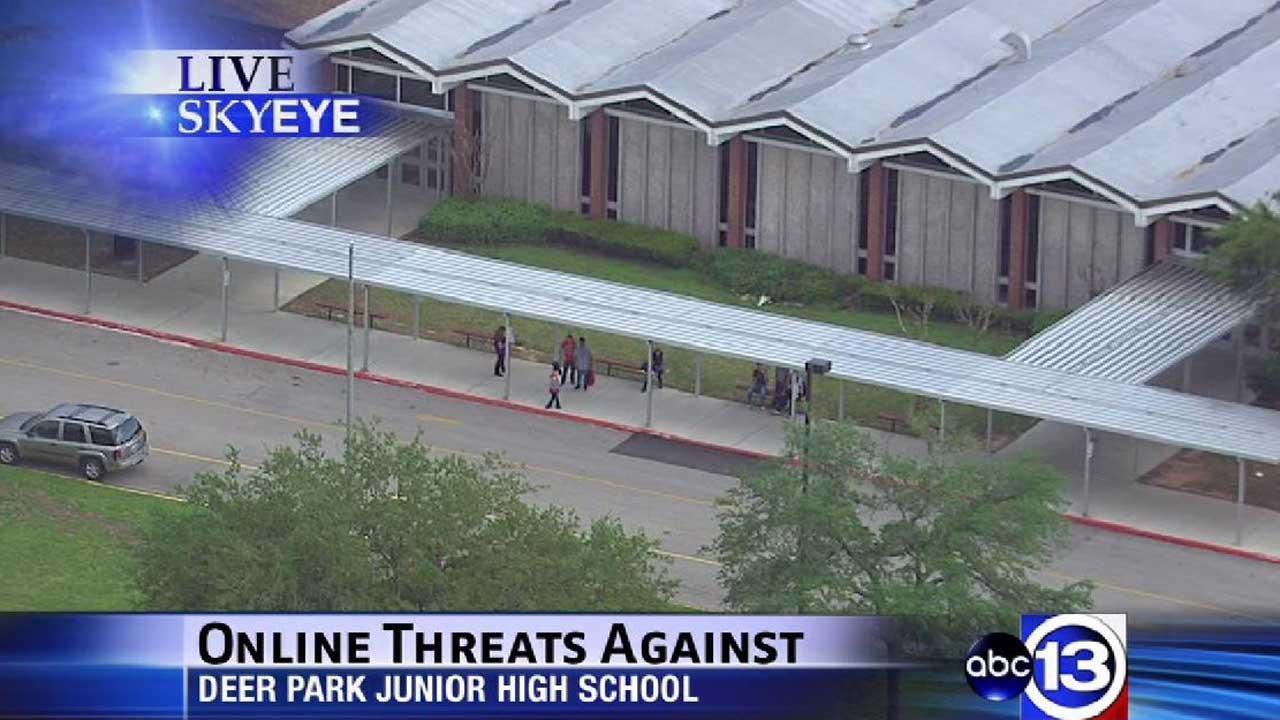 Threat reportedly made against Deer Park junior high