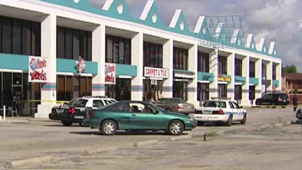 Police are investigating a deadly shooting an an after-hours night club in this shopping center in southeast Houston