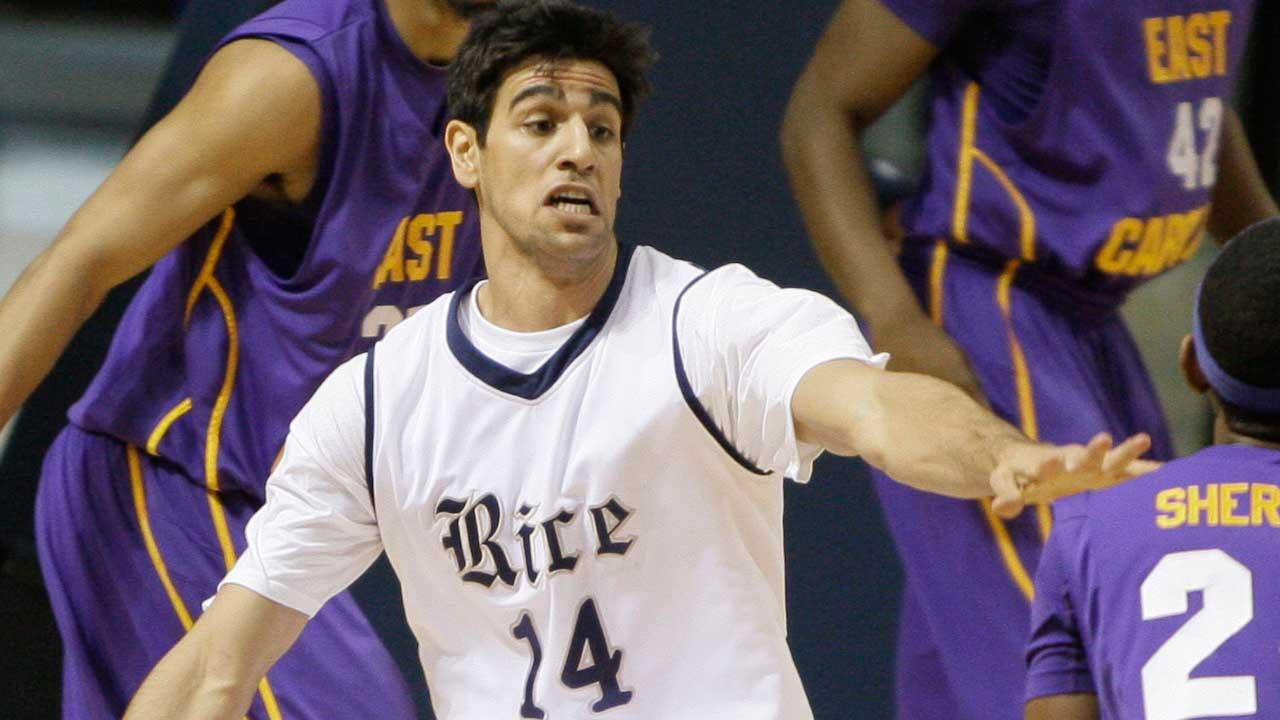 Arsalan Kazemi, pictured above, transferred to Oregon earlier this year.  He says while at Rice,  Athletic Director Rick Greenspan repeatedly made insulting and discriminating remarks.  (AP)