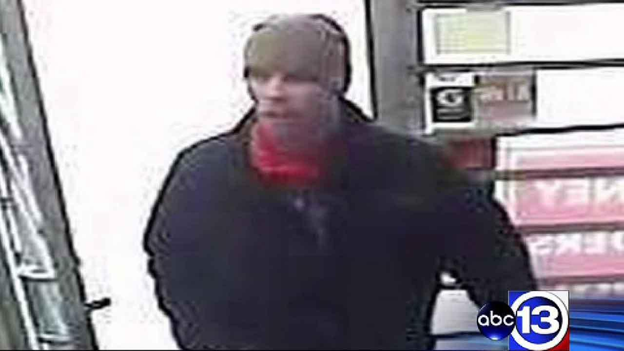 Investigators say the suspect posed as a customer when he walked into Jacks Chevron on Bayway Drive back on March 7.