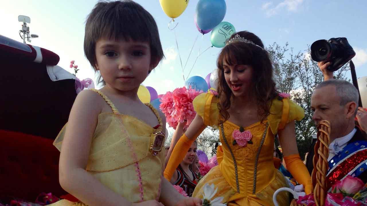 Dickinson princess parade