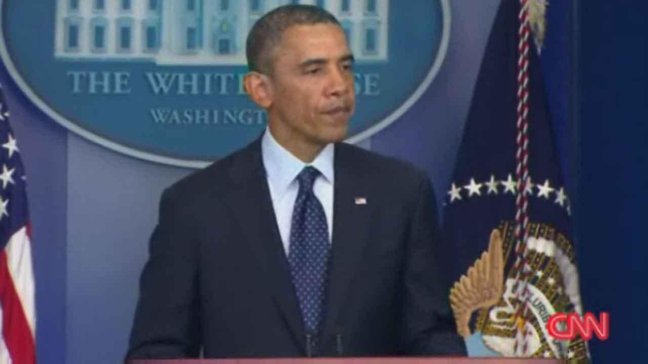 Pres. Obama: 'We will find out who did this'