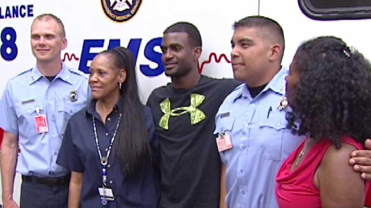 Former UH star D.J. Hayden gets to thank life-savers