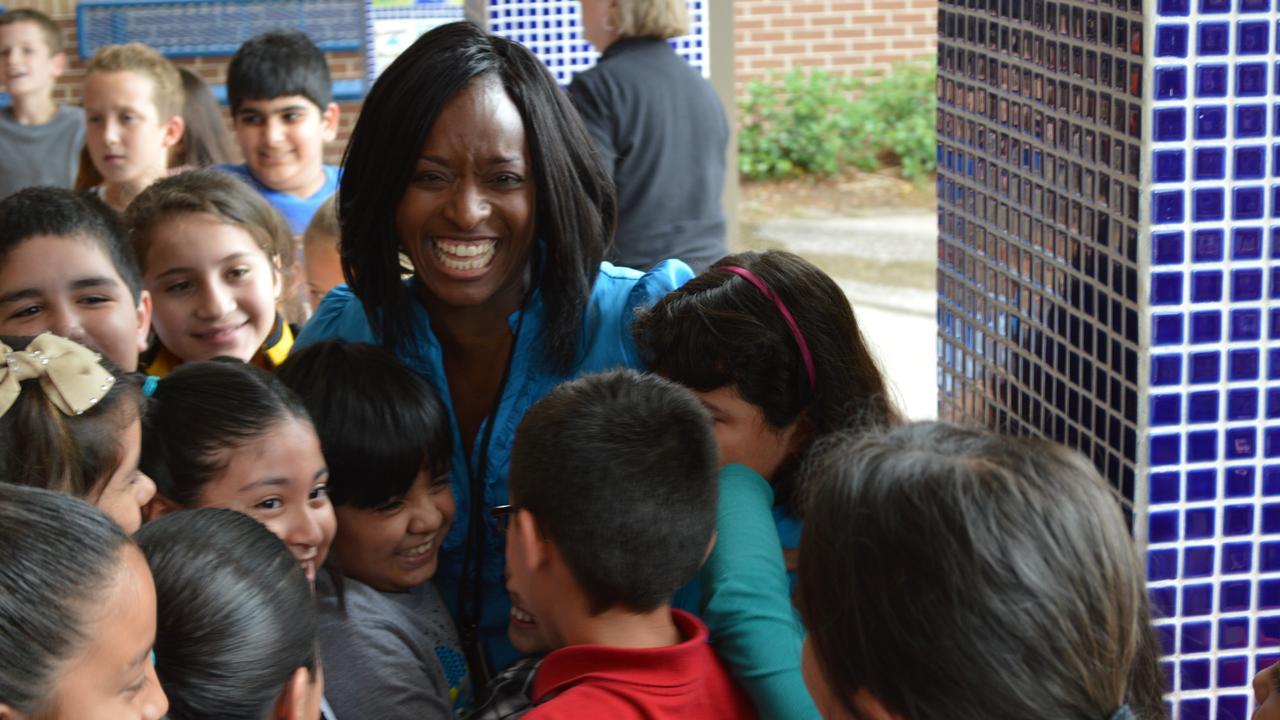 CCISDs Jillian Howard is the Texas Elementary Teacher of the Year