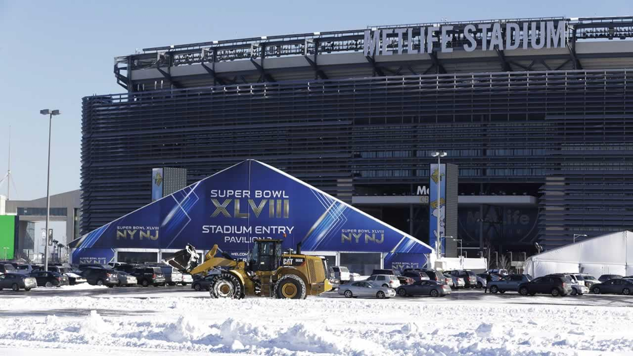 Super Bowl preps at MetLife Stadium