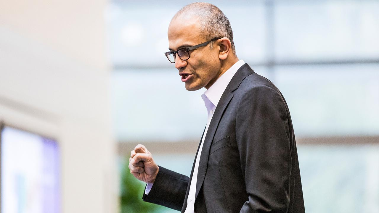 Satya Nadella, seen here in this undated photo provided, will replace Steve Ballmer as Microsofts new CEO, the company announced Tuesday, Feb. 4, 2014.