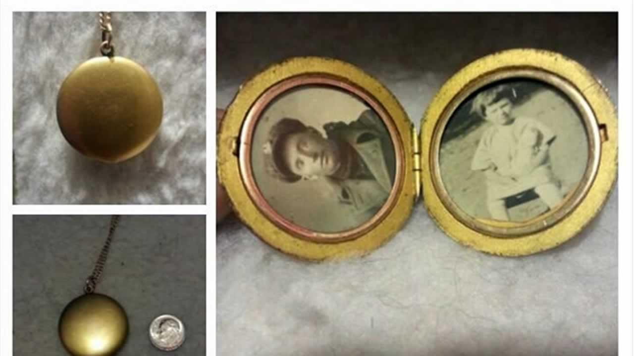 Woman searching for story behind locket photos