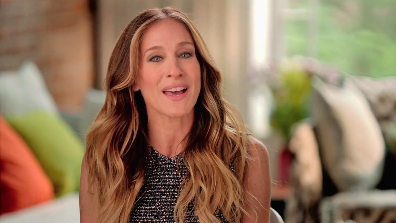 Fashion style Jessica sarah parker obama fundraiser video for lady