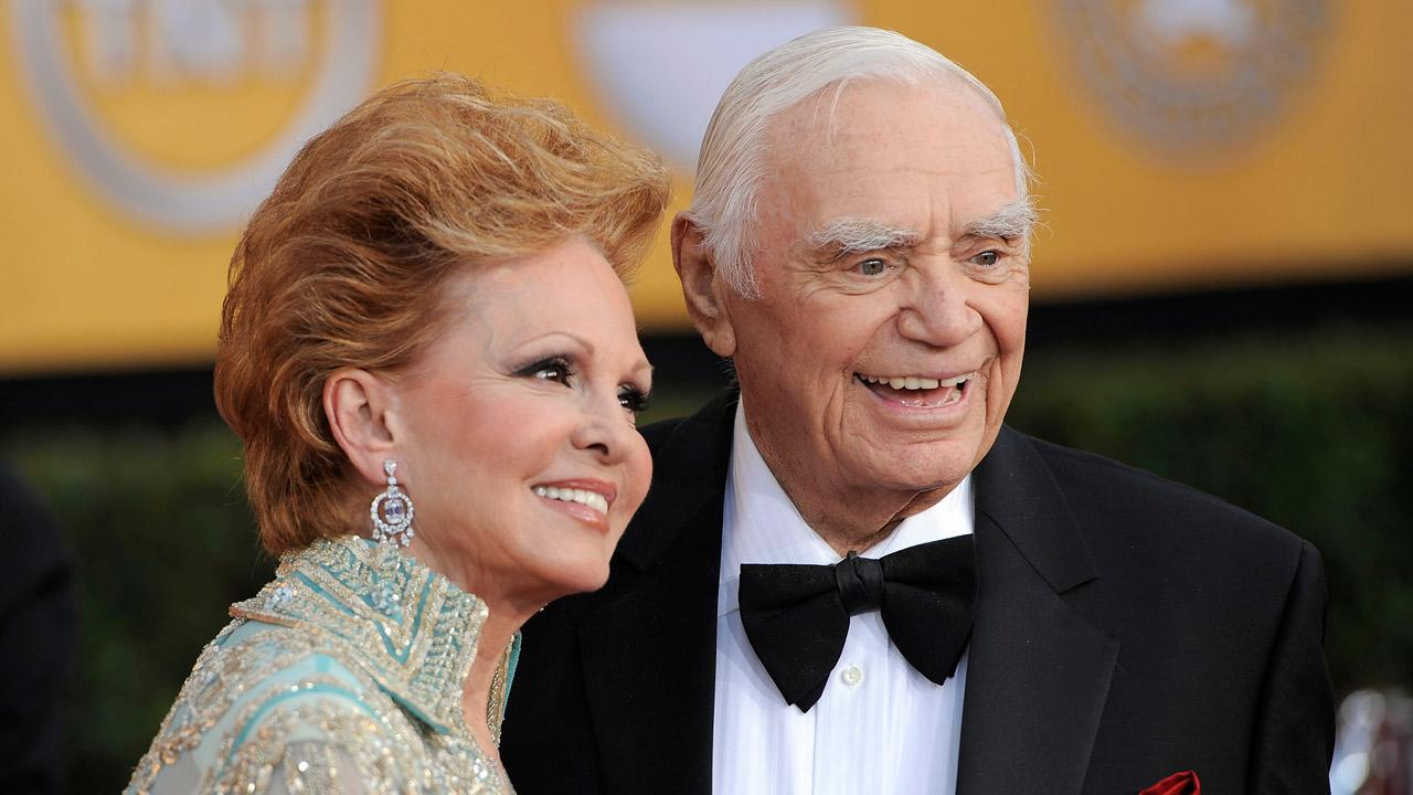 Ernest Borgnine and his wife Tova Borgnine arrive at the 17th Annual Screen Actors Guild Awards on Sunday, Jan. 30, 2011 in Los Angeles.Chris Pizzello
