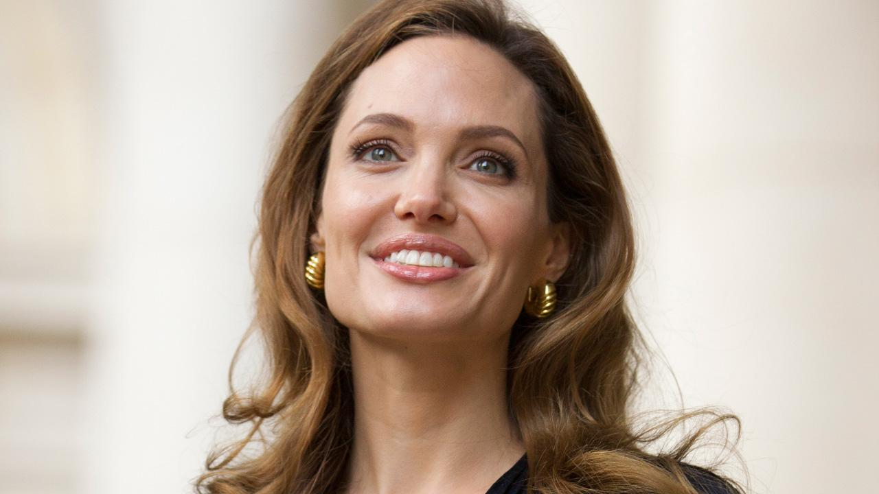 Actress Angelina Jolie arrives to meet government ministers ahead of a screening of her new film In the Land of Blood and Honey at the Foreign Commonwealth Office (FCO) in London, on Tuesday May 29, 2012.