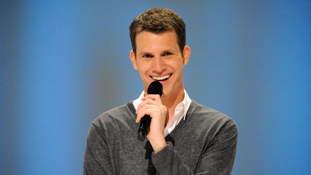 Daniel Tosh appears in a scene from his 2011 standup comedy special, Happy Thoughts.