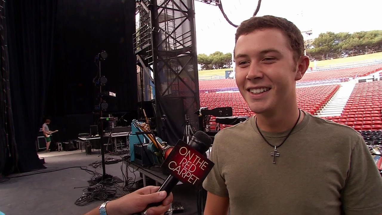 Scotty McCreery talks to OnTheRedCarpet.com about his summer concert tour, college and American Idol on July 18, 2012.