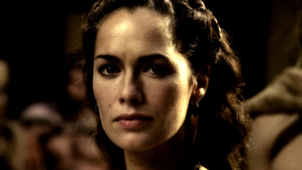 Lena Headey appears in a still from the 2007 film, 300.Warner Bros. Entertainment