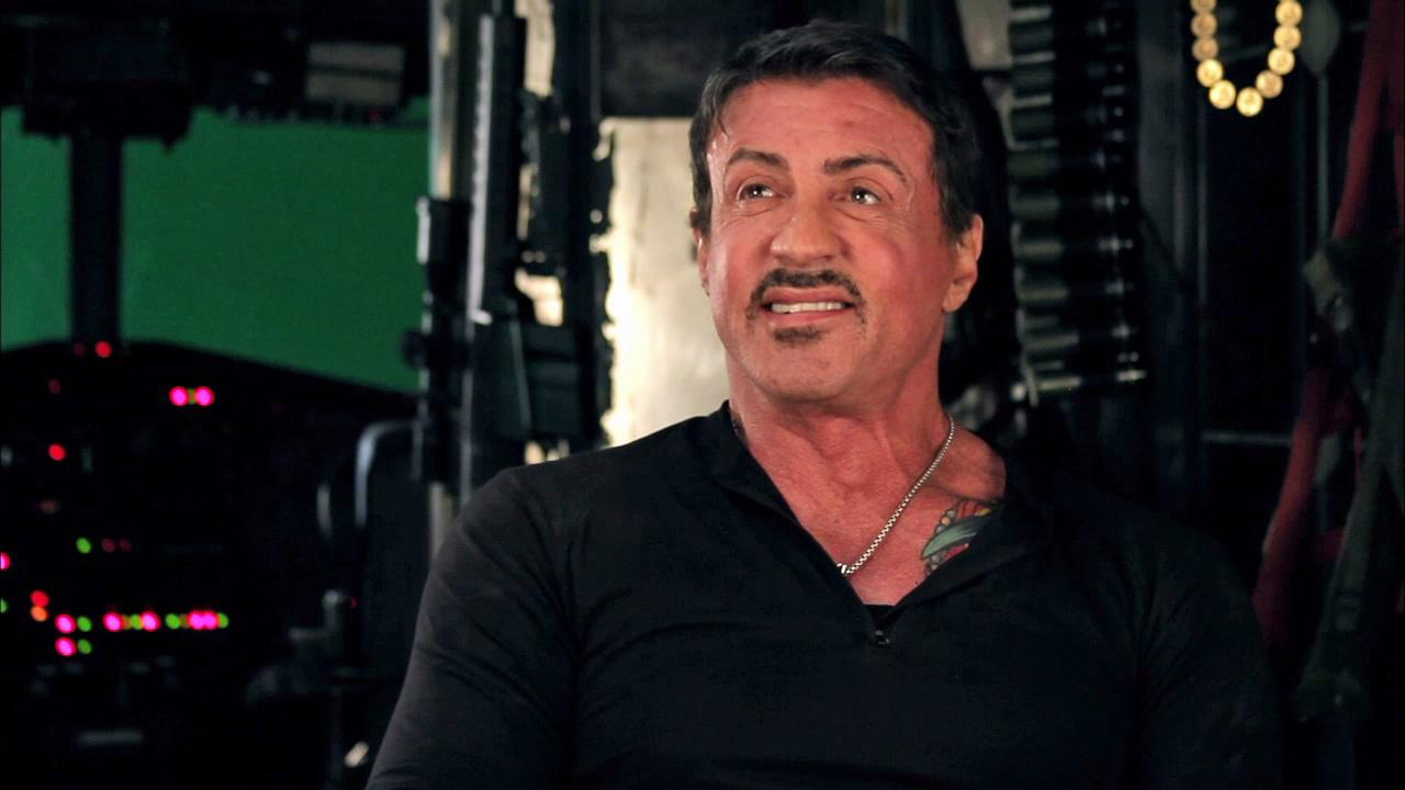 sylvester stallone on 'expendables 2' fight - see video