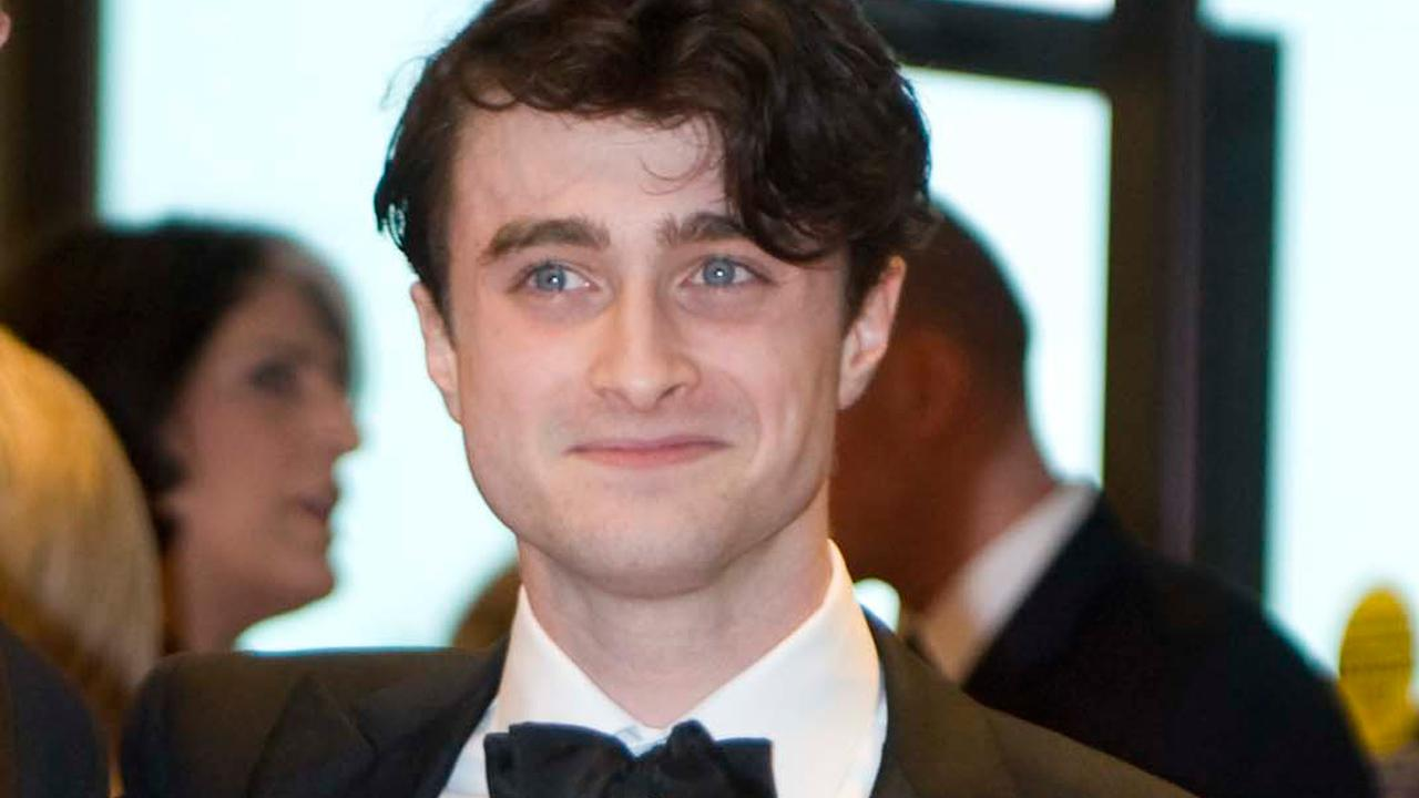 Actor Daniel Radcliffe arrives at the White House Correspondents Association Dinner on Saturday, April 28, 2012 in Washington.