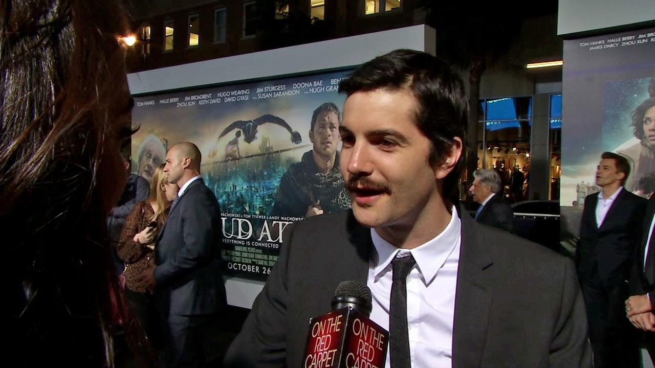 Jim Sturgess talks to OTRC.com at the Los Angeles premiere of Cloud Atlas on October 24, 2012.