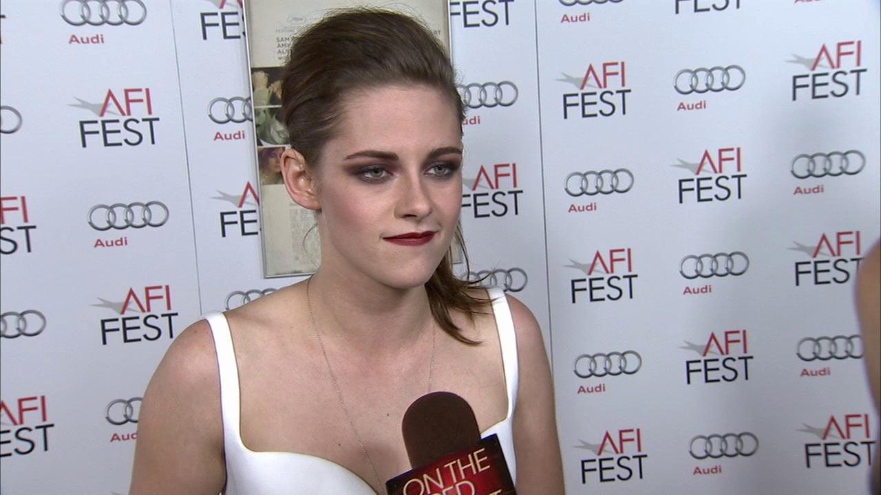 Kristen Stewart talked to OTRC.com on Saturday, November 3, 2012, at a screening for On The Road.