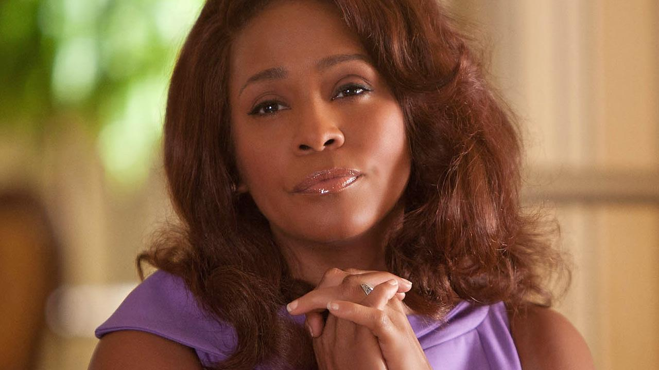 Whitney Houston appears in a scene from the 2012 movie Sparkle.