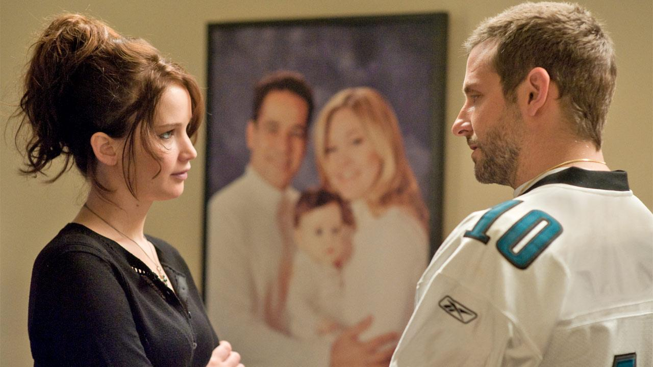 Jennifer Lawrence and Bradley Cooper appear in a scene from the 2012 film Silver Linings Playbook.