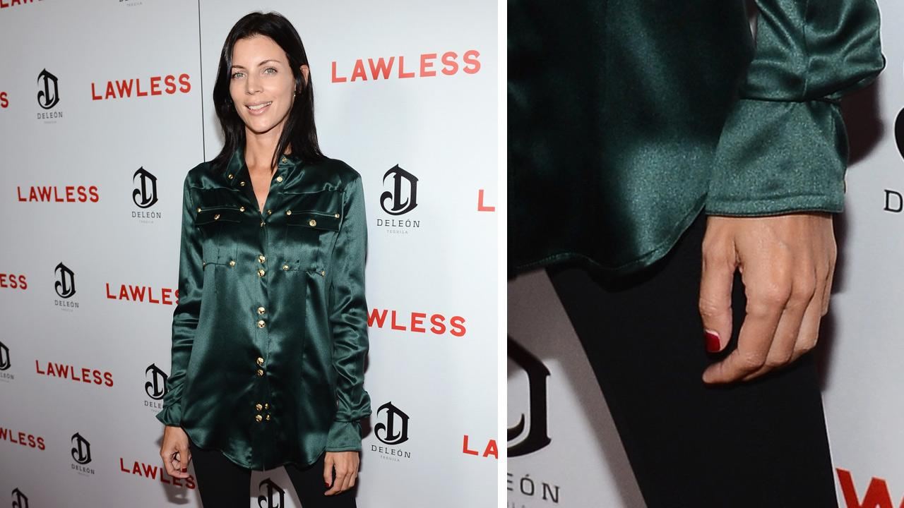 Liberty Ross, a model and wife of director Rupert Sanders, appears at the premiere and after party of the movie Lawless, sponsored by DeLeon Tequila, at Eden in Hollywood on Aug. 22, 2012.Earl Gibson III/WireImage