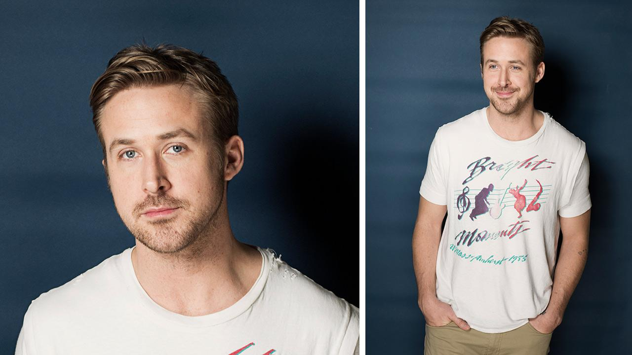 Ryan Gosling poses for a portrait in New York March 10, 2013.