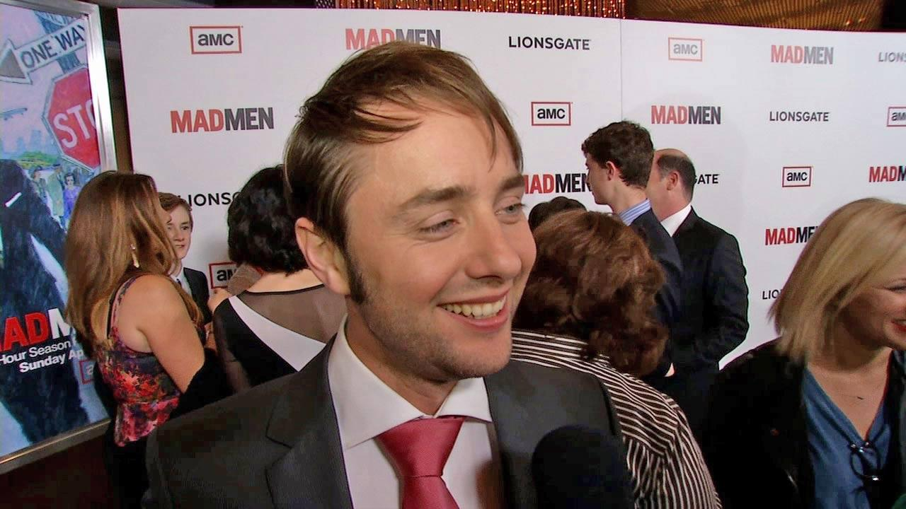 Vincent Kartheiser, also known as Mad Mens Pete Campbell, talks to OnTheRedCarpet.com at the March 2013 premiere of the shows sixth season.