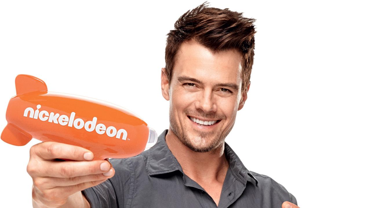 Josh Duhamel appears in a publcity photo for the 2013 Kids Choice Awards, which he is hosting on March 23, 2013.