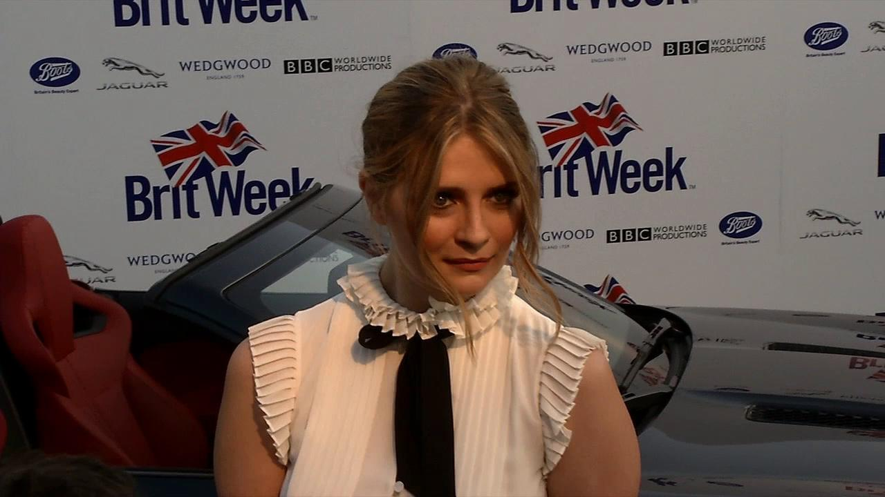 Misha Barton of The O.C. poses for photographers at an L.A. Brit Week event on April 23, 2013.