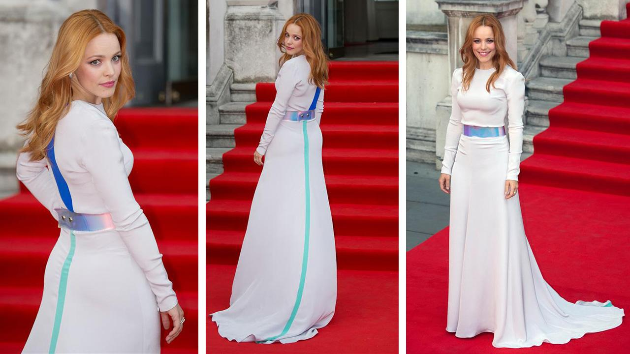 Rachel Mcadams Wears Futuristic Gown To 39about Time39