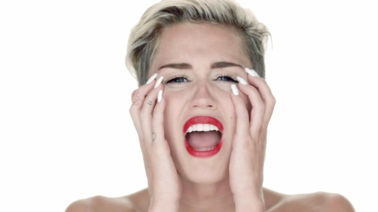 Miley Cyrus appears in the 2013 music video for her song Wrecking Ball.