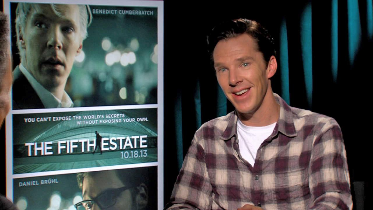 Benedict Cumberbatch talks to OTRC.com about The Fifth Estate film at the 2013 Toronto Film Festival on Sept. 7, 2013.