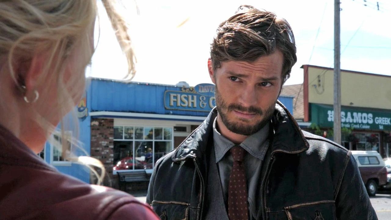 Jamie Dornan appears in a scene from the ABC show Once Upon A Time in 2011.